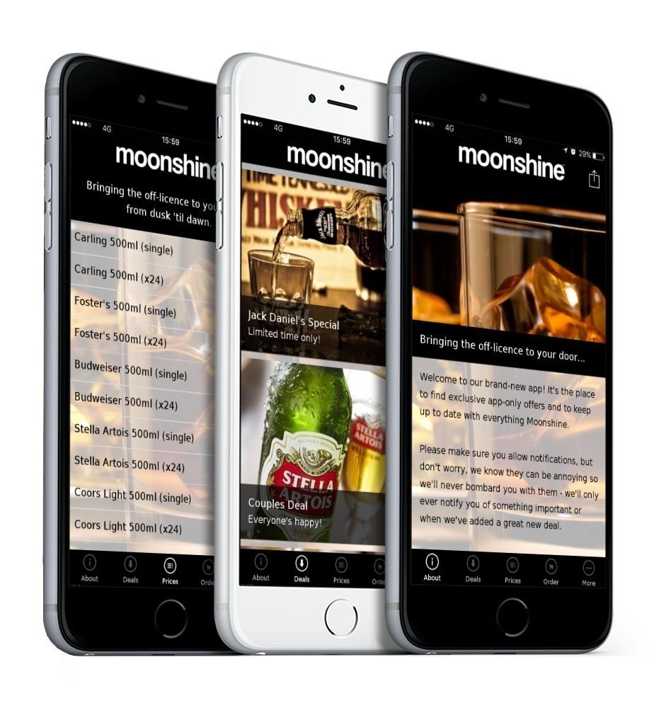 Moonshine App 2
